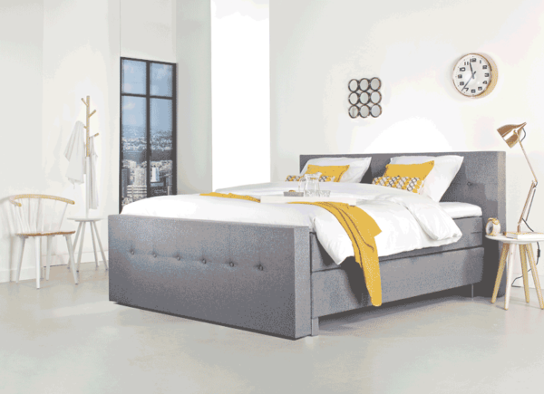 Eurobed Maastricht Boxspring Eurocomfort 5000 Button 1