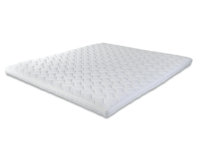 Traagschuim Of Latex.Topper Opdekmatras Latex Pulse Comfort 5000 Eurobed